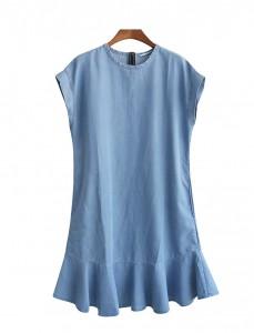 <br> Seri Denim Freel Dress <br><br>