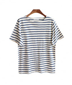 <br> Perfect Basic Stripe Tee <br><br>