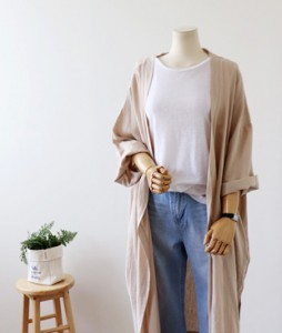 <br> Carly Linen Open Cardigan <br><br>