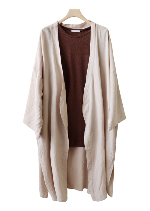 <br> Carly Linen Open Cardigan <br> - Not returned or exchanged;