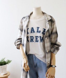 <br> Summer stylish Linen Check Jacket <br><br>