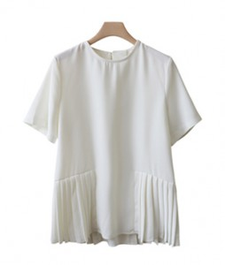 <br> Roxy Pleats Blouse <br><br>