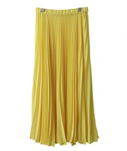 <br> Pleats Long Skirt <br><br>