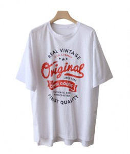 <br> Summer Real Vintage Long Tee <br><br>