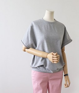<br> Dazzle sleeves Man to man Tee <br><br>