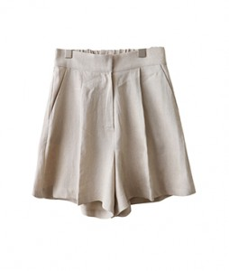 <br> Light Pin Tuck Banding 3 Pants <br> - Not returned or exchanged;
