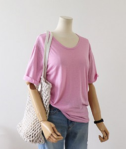 <br> Xiamen Round Linen Tee <br> - Not returned or exchanged;