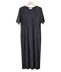 <br> Simply Pleats Dress <br> - Not returned or exchanged;
