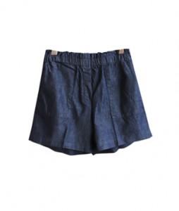 <br> Soft Denim Banding Shorts <br><br>