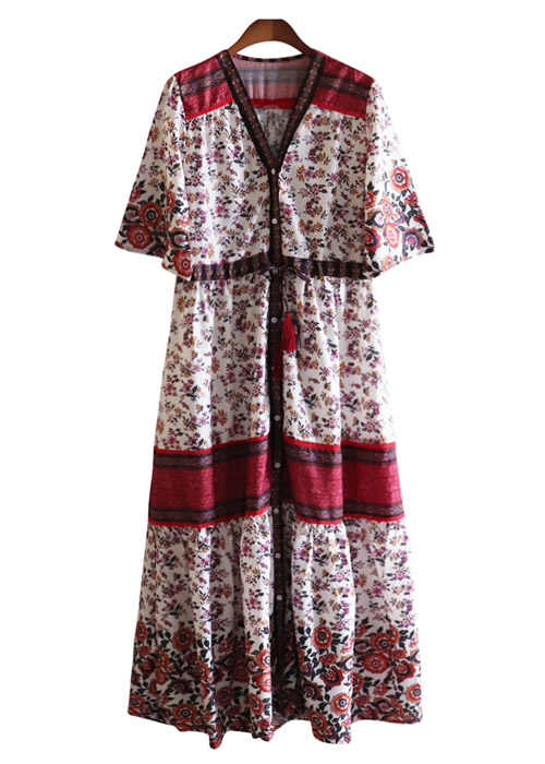 <br> RedSnap Tassel Dress <br><br>