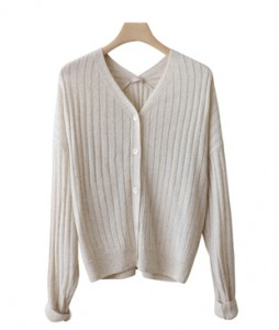 <br> Sheep V feminine Cardigan <br><br>
