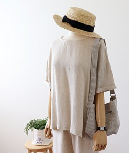 <br> Cool Linen Blouse <br> - Not returned or exchanged;
