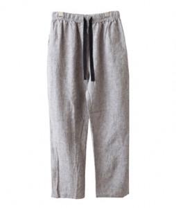 <br> Linen Stripe Banding Pants <br><br>
