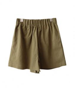 <br> Linen Banding Short Pants <br><br>