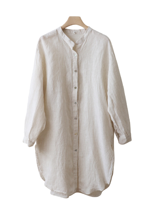<br> Beautiful Linen Long Blouse <br> - Not returned or exchanged;