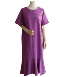 <br> Freel Linen One Piece <br> <b><font color=#253952>Dress 4th item</font></b>