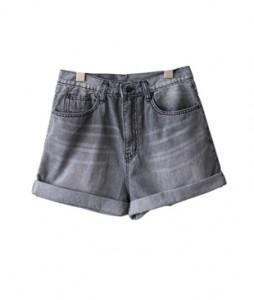 <br> Gray Part 3 Denim Pants <br><br>