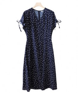 <br> Sleeved Shearing Dress <br><br>