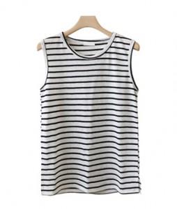 <br> key point Dangara Linen Sleeveless shirts Tee <br><br>