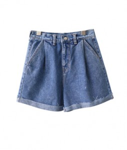<br> Pinup Rollup Denim Shorts <br><br>