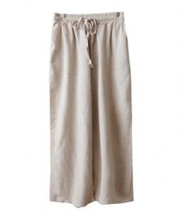 <br> Net Soft Linen Banding Pants <br><br>