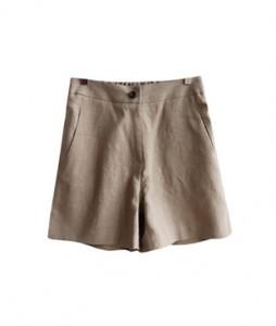 <br> Good material Linen Banding half pants <br><br>