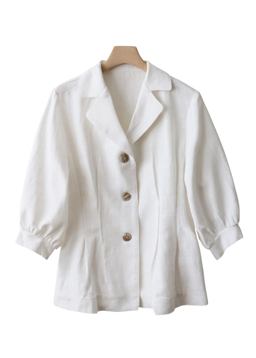 <br> feminine dart cotton jacket <br><br>