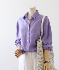 <br> Soft Linen Kara Shirt <br><br>