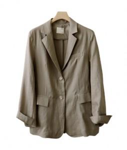 <br> Basic Linen Black Jacket <br><br>