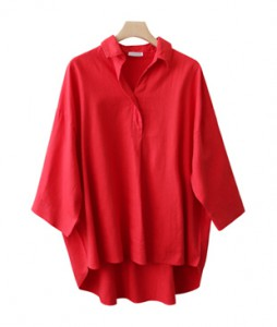 <br> Soft semi-open Shirt <br><br>