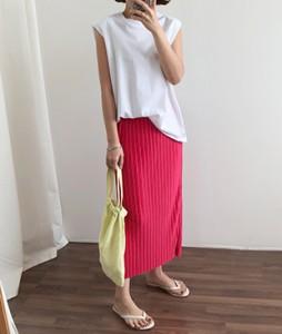<br> Jane Long Pleats Skirt <br><br>