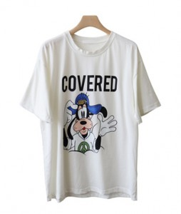 <br> Cover Dog Worn Short-sleeve Tee <br><br>