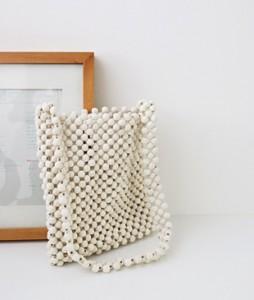 <br> Wood Beads Bag <br><br>