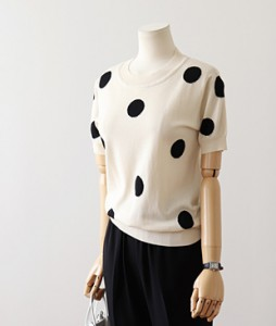 <br> Cool Dot Knit <br> <b><font color=#253952>Knit first place items</font></b>