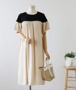 <br> Black Ruched Dress <br><br>