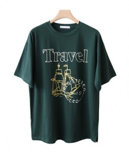 <br> Trip Lettering Short-sleeve Tee <br><br>