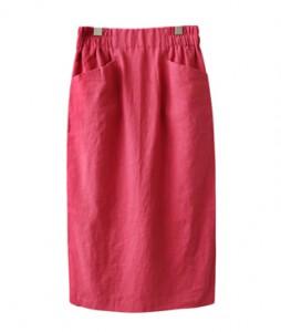 <br> Linen Banding Skirt <br><br>