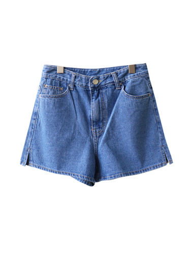 <br> Chincheong side slit hot Pants <br> [Return can not be replaced]