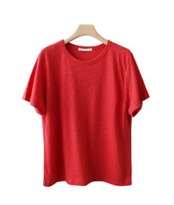 <br> Jaffe Linen Short-sleeve Tee <br> <b><font color=#253952>T-shirt 3rd</font></b>
