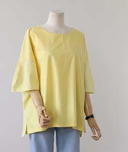 <br> Easy Pretty Pit Blouse Like Tee <br><br>