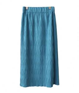 <br> Natural Wrinkle Banding Skirt <br><br>