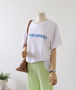 <br> Summer Summer Short-sleeve Tee <br><br>