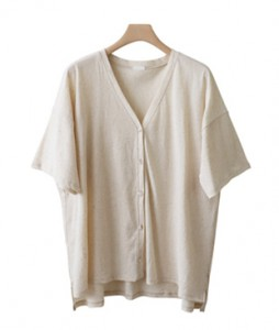 <br> Lily Short-sleeve Button Cardigan <br><br>
