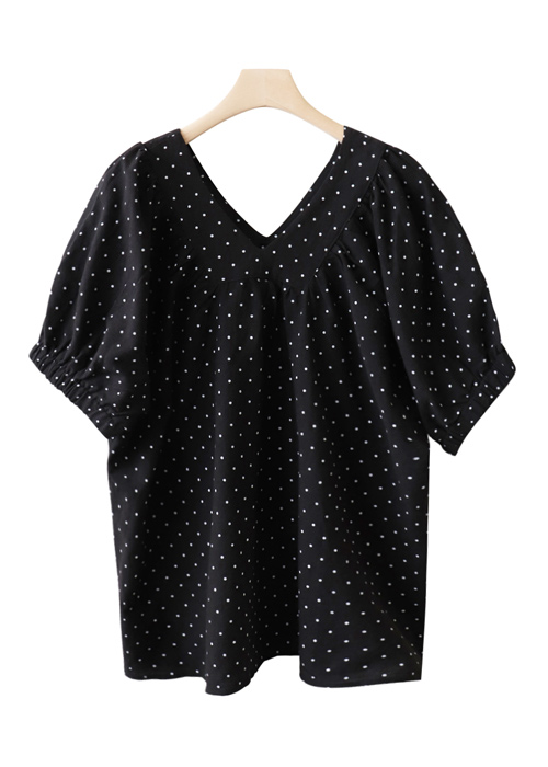<br> Both V Neck Zandot Blouse <br><br>
