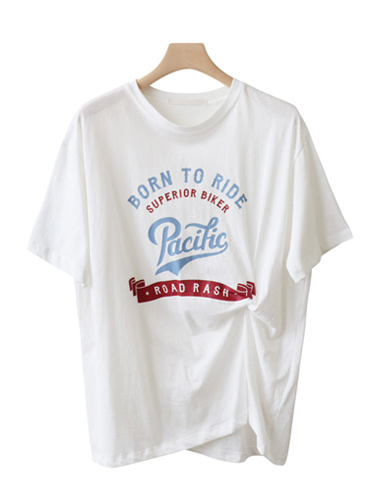 <br> Kink Lettering Tee <br> [Return can not be exchanged]