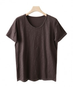 <br> V-neck Slab Basic Tee <br><br>