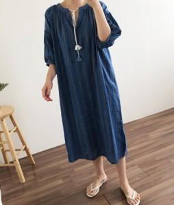 <br> Dress Tassel Embroidery Dress <br><br>