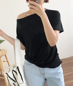 <br> Boat Neck Chalang Tee <br><br>