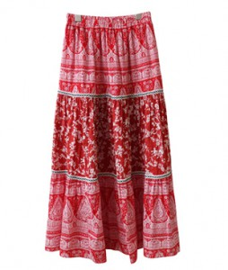 <br> Embroidery Banding Skirt <br><br>