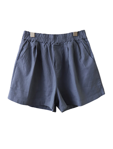 <br> Plain Banding Shorts <br> [Return can not be exchanged]